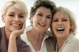 Ladies Smiling