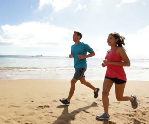 HCG Diet - Running Couple